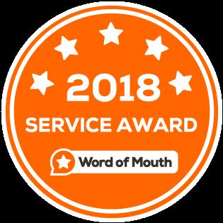 WOMO 2018 Service Award