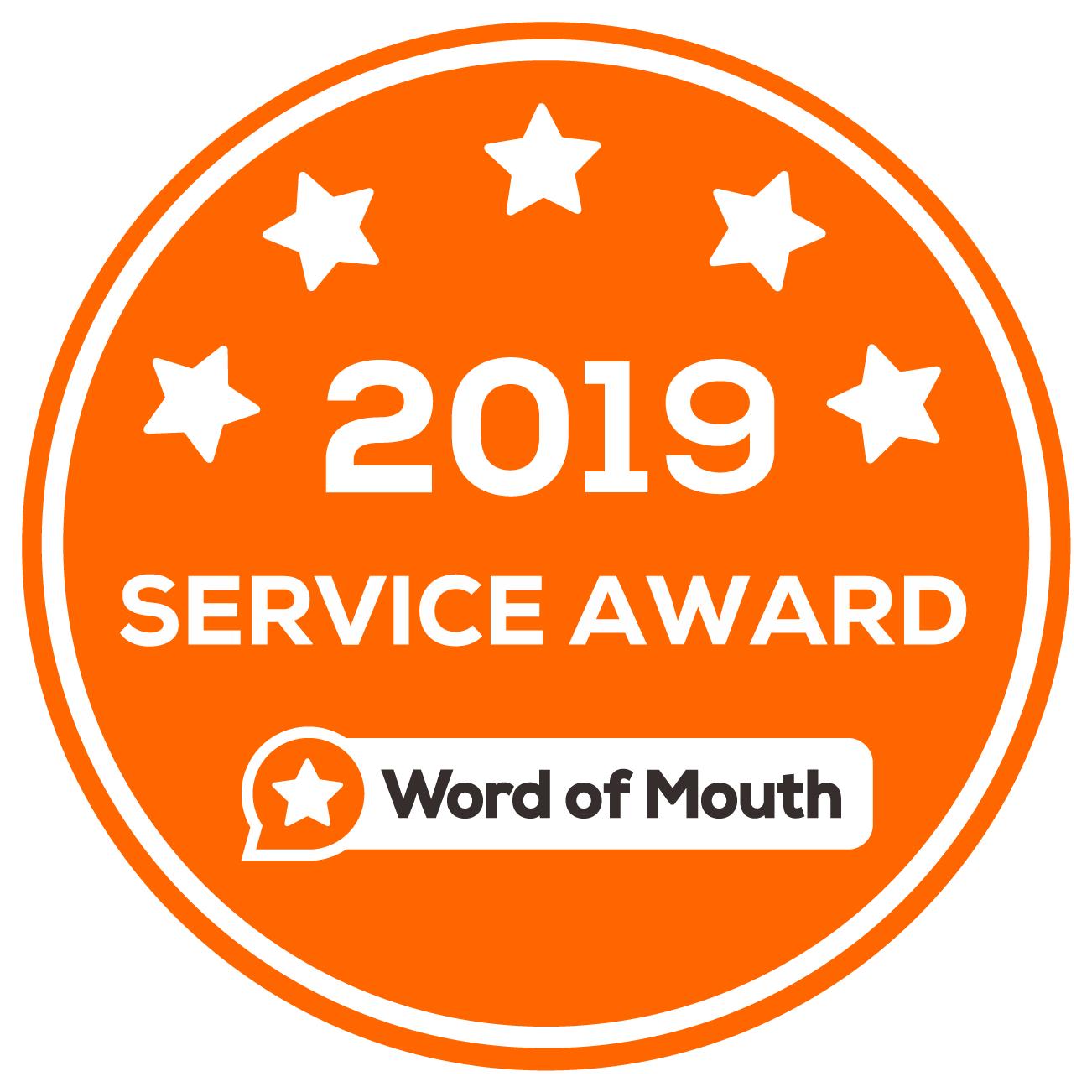 WOMO 2019 Service Award